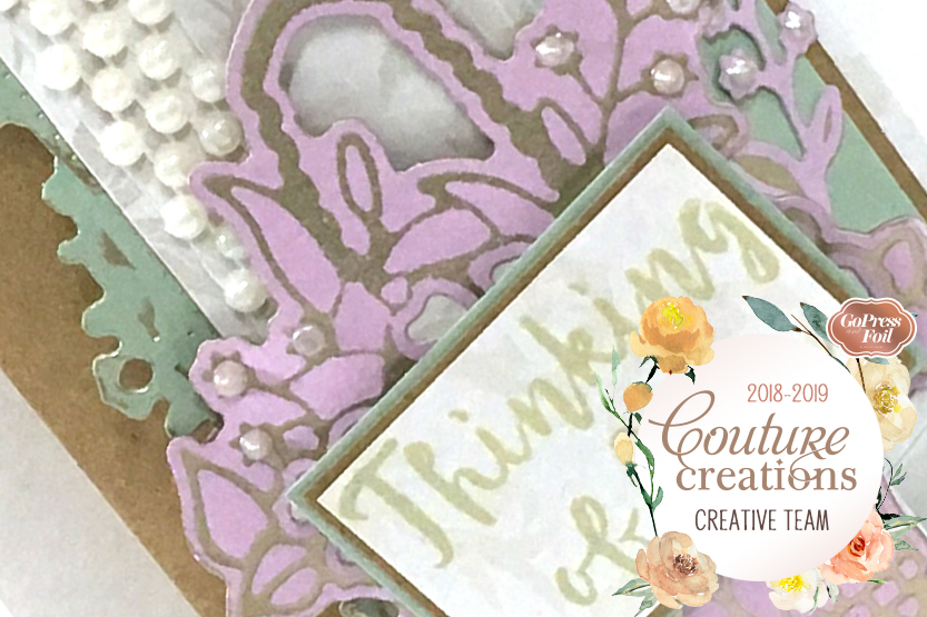 Couture Creations DT Reveal | Lavish Ballroom & Special Occasions Card