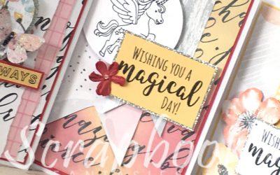 Magical Day Cardmaking Class @ Scrapbook Fantasies