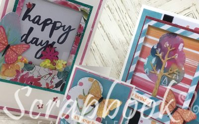 Cocoa Vanilla Studio Happiness Cardmaking Class