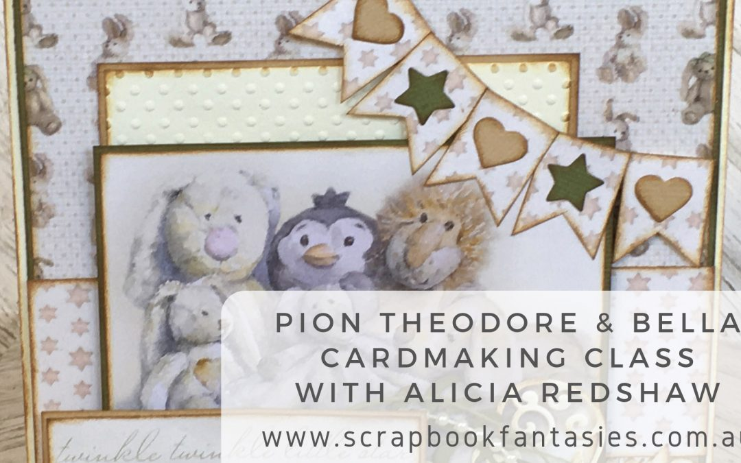 Pion Theodore & Bella Cardmaking Class